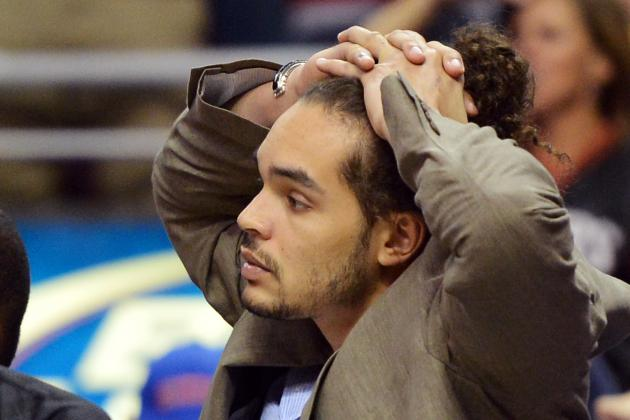Joakim Noah's Ankle Trouble Will Doom Chicago Bulls with Derrick Rose Sidelined