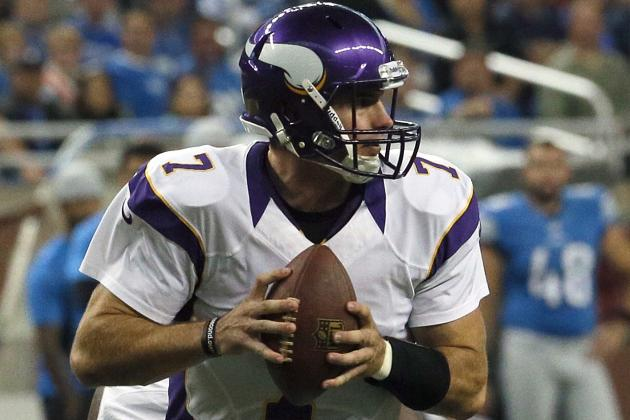 Christian Ponder's Mobility Could Be Issue for Vikings
