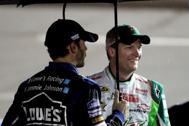 Earnhardt Jr., Johnson Bemoan Lack of Control at 'Dega