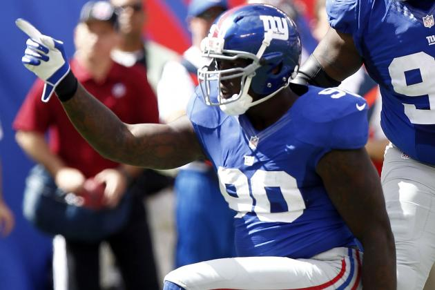 Jason Pierre-Paul Isn't Having Fun