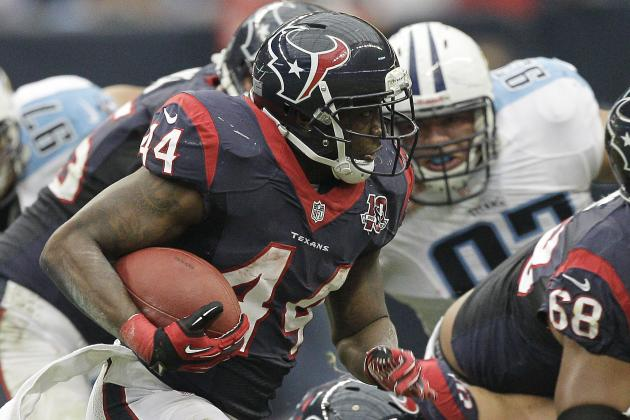 Ben Tate's Status Is Undecided for Monday Night