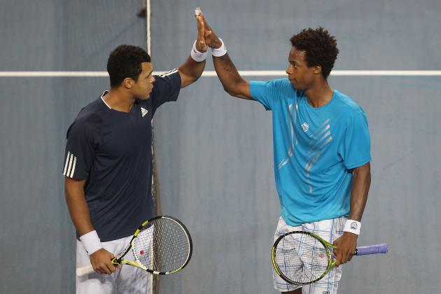 Jo-Wilfried Tsonga and Gael Monfils Bring