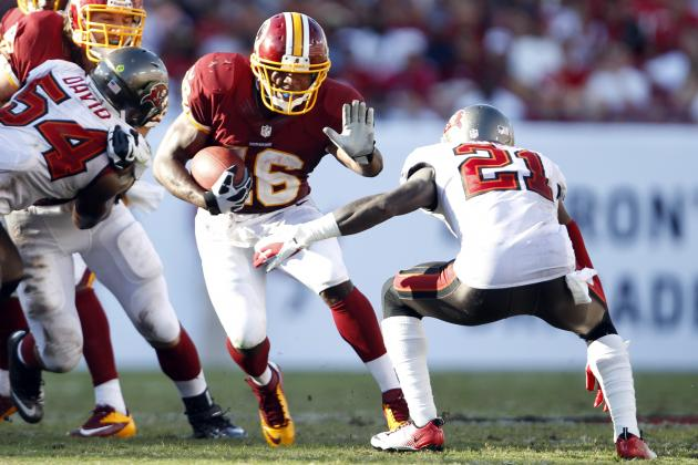 Can Redskins Rookie Alfred Morris Lead the League in Rushing?