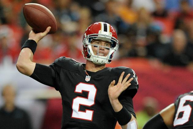 Matt Ryan & Co. Lead Atlanta Falcons to 4-0 Start in Season's First Quarter