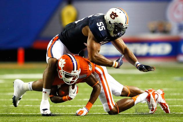 Corey Lemonier Scouting Report: Breaking Down the Auburn Defensive End