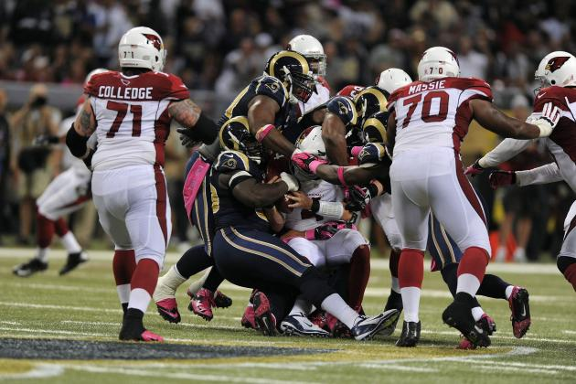 Cardinals vs Rams: Arizona's Offensive Line Fell Flat on Its Face in Defeat