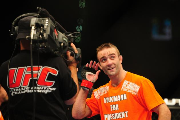 Jacob Volkmann: 'I Consider Chael Sonnen the True Champion at Light Heavyweight'