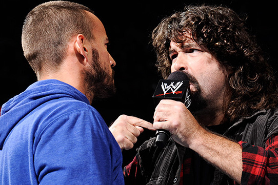 WWE Rumors: Why CM Punk vs. Mick Foley Shouldn't Happen at TLC