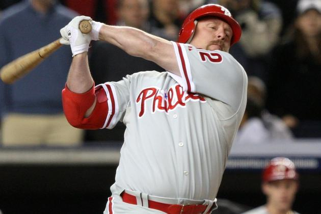 Phillies Looking at Matt Stairs or Mike Sweeney as Assistant Hitting Coach