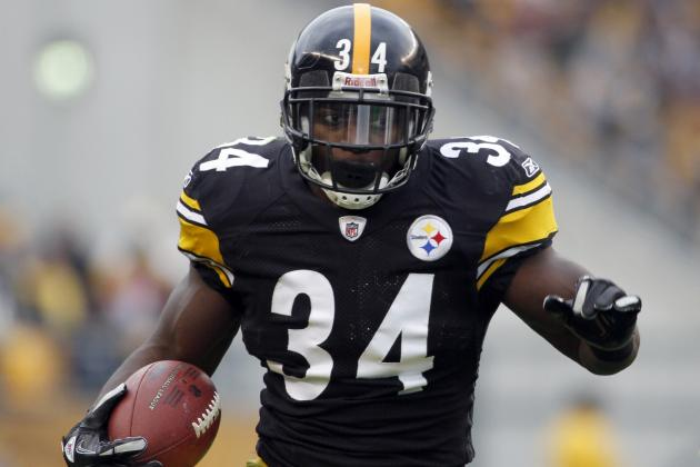 Rashard Mendenhall: Steelers RB Is Must-Start Fantasy Option in Season Debut