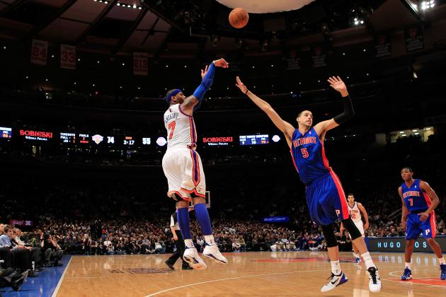 NBA Confirms Knicks-Pistons to Play in London on Jan. 17