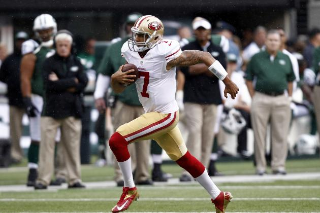 Debate: How Many Touches Will Colin Kaepernick Get vs. the Bills?