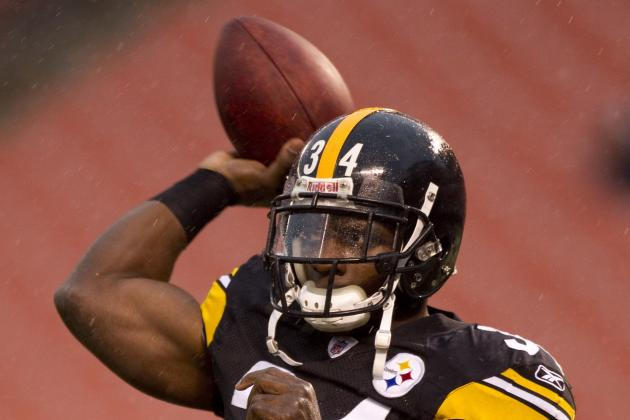 Steelers Want to Get Mendenhall 'A Significant Amount of Work' Against Eagles