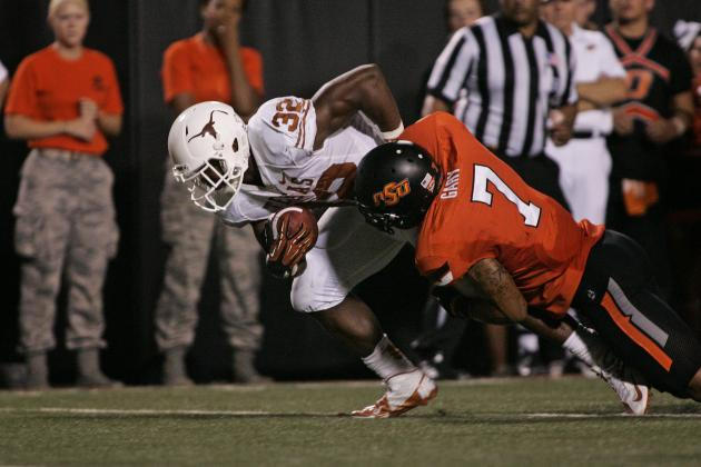 West Virginia vs. Texas: Longhorns Rushing Attack Key to Exposing Mountaineers