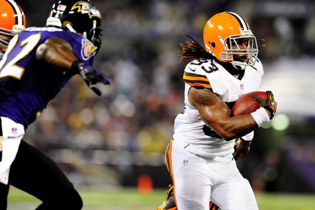 Trent Richardson: Browns Can Run on Giants
