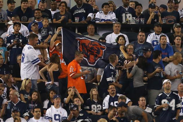 What Homefield Advantage? Bears Say Cowboys Game 'Felt Like a Home Game'