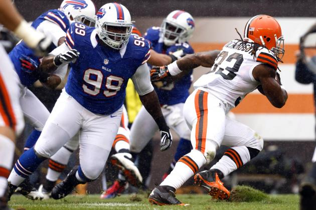 Buffalo Bills' Marcell Dareus Aiming for Consistency