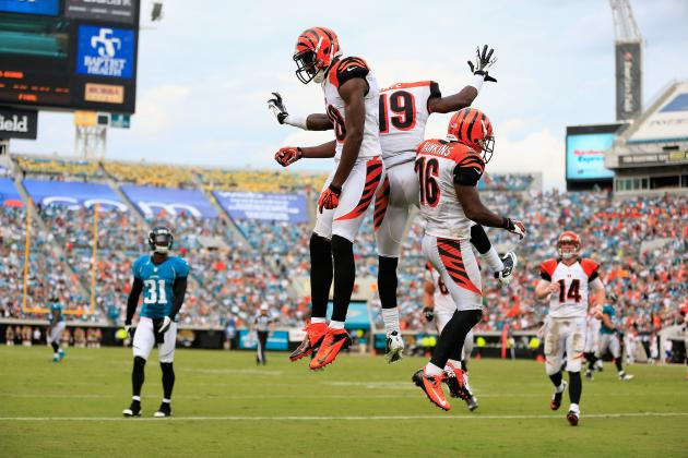 WR A.J. Green on Record Pace