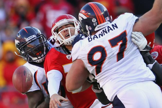 Broncos Preparing for Patriots Ground Game, and Other AFC West News