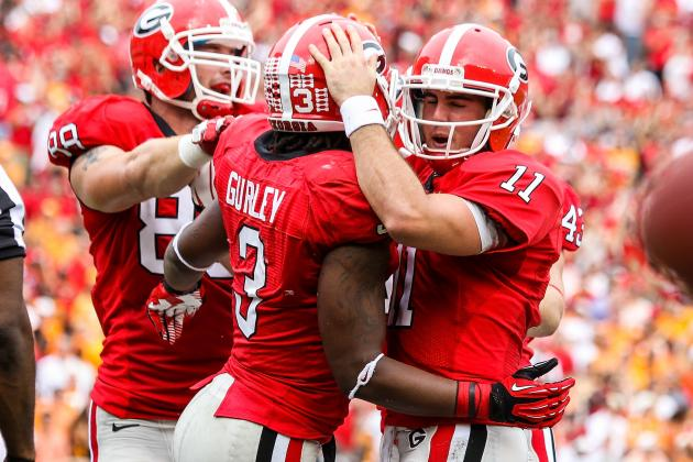 Georgia vs. South Carolina: Bulldogs' Offense Is Most Versatile in the Country