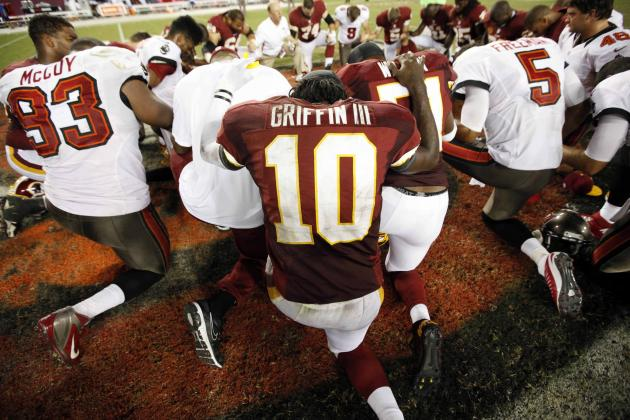 Robert Griffin III, Offensive Rookie of Month