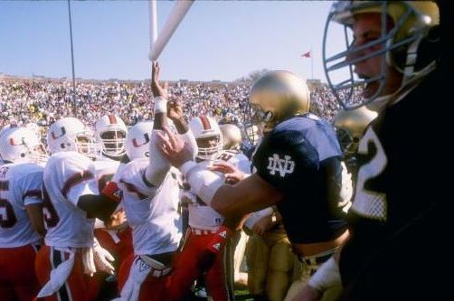 Notre Dame-Miami: The Story Behind