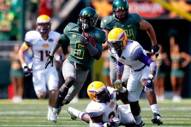 Oregon vs. Washington: Why De'Anthony Thomas Will Lead Ducks to Victory