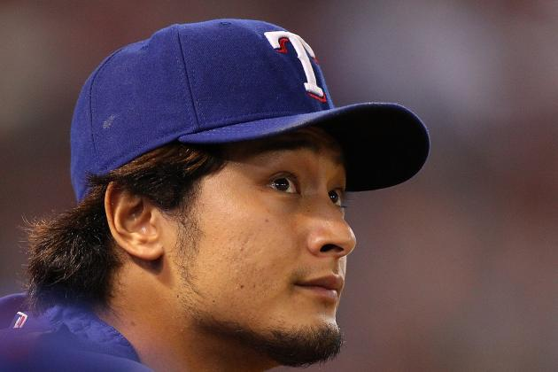 Set to Face O's, Darvish No Stranger to Postseason