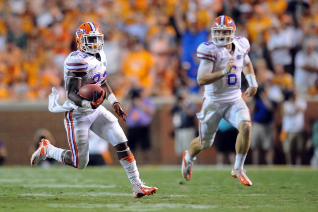 Gators' Ground Game Has Tiger's Attention