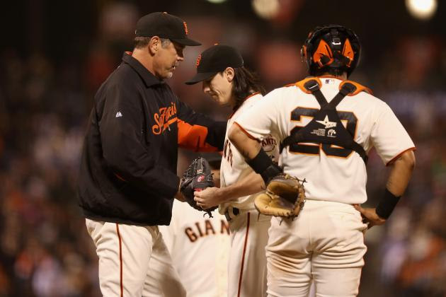 Bochy Keeps Cards Close When It Comes to Playoff Rotation