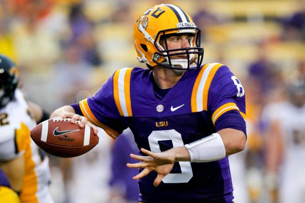 LSU Quarterback Shaves Mustache to Cure 'Offensive Woes'