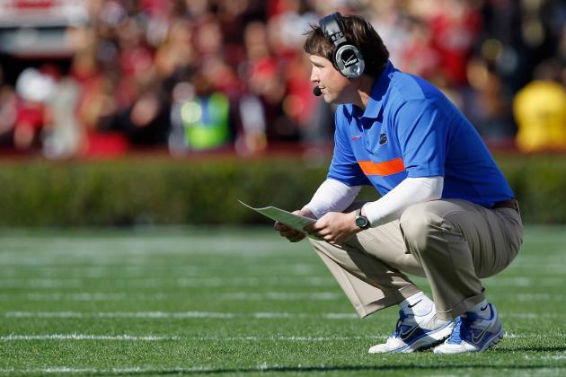 Florida's Muschamp Using LSU's Big Win Last Season to Fire Up Gators