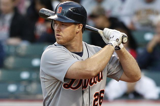 Tigers' Brennan Boesch Looks to Regain Form in A's Series