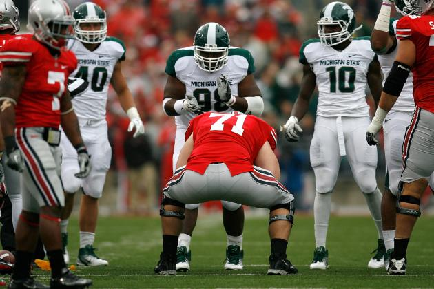 Michigan State DTs 'Getting Better' as Loss of Jerel Worthy Still Resonates