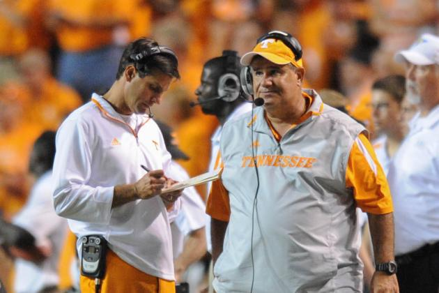 Tennessee Defensive Coordinator Sal Sunseri: 'These Big Plays Are Killing Me'