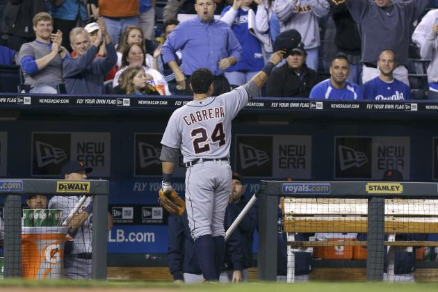 Tigers' Cabrera Embracing Triple Crown Frenzy