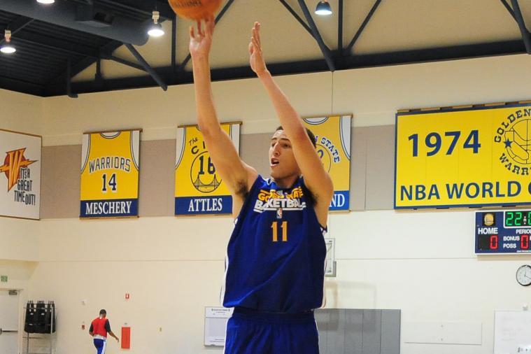 Warriors' Thompson Sets Sophomore Season Goal