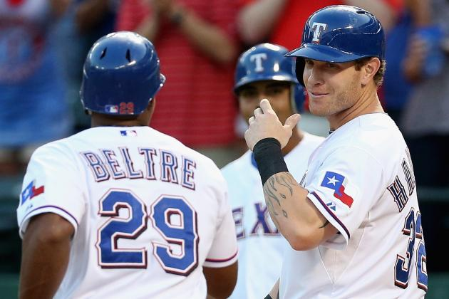 Rangers Announce Lineup for Wild Card Playoff