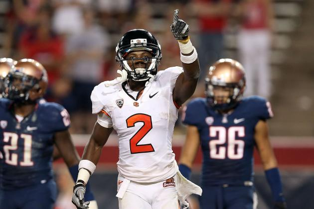 Oregon State's Markus Wheaton and Brandin Cooks as Good a Receiver Duo as USC's?