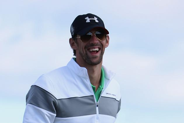 Michael Phelps Becomes Golf God and Drops Epic 50-Yard Putt at Dunhill Links