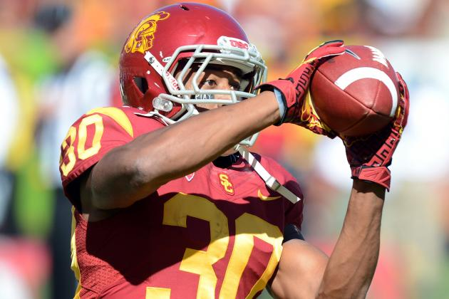 USC's D.J. Morgan Has Productive Return