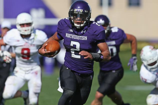 Penn State Must Know Location of Northwestern Multi-Threat Kain Colter
