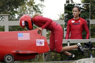 Olympic Hurdler Lolo Jones Tries out for US Bobsled Team