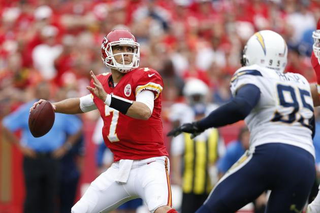 Matt Cassel: What Chiefs QB Must Do vs. Ravens to Retain His Starting Job