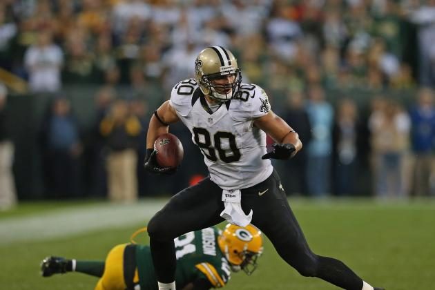 Jimmy Graham, Chargers' Antonio Gates Took Similar Paths to NFL Success