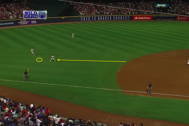 Infield Fly Rule: Rundown of How Rule Came into Play in Cardinals vs. Braves