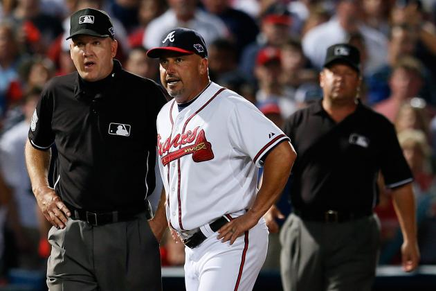 St. Louis Cardinals vs. Atlanta Braves: Umpires Get Infield Fly Rule Call Right