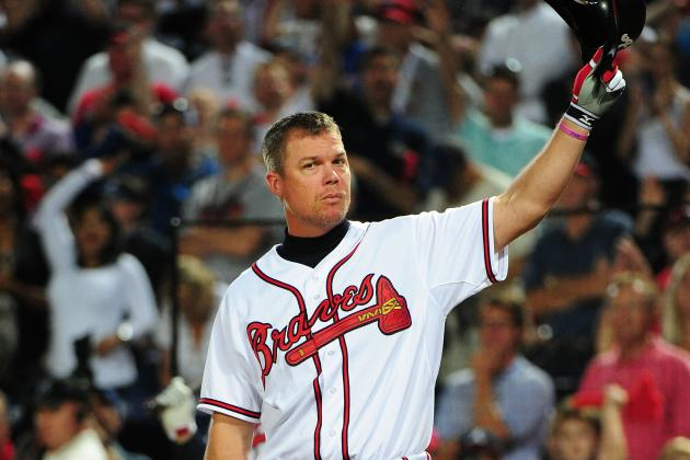 Chipper Jones: Braves' Legend Leaves MLB as One of Baseball's Biggest Heroes