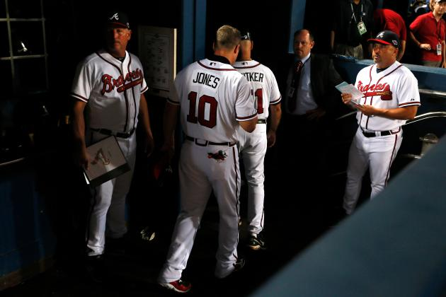 Braves Fans Throwing Beer Bottles Are to Blame for Chipper Jones' Sour Exit