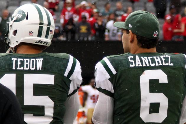 New York Jets Keep Tim Tebow on the Bench